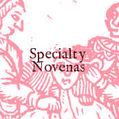 Custom and special novena candles